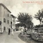 Contrada Ca' Montagna ai primi del Novecento