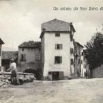 L'entrata del paese ai primi del Novecento